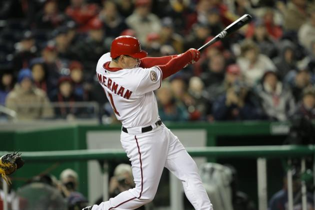 Zimmerman Remains Hot, LaRoche Returns, and Lidge Closes Door in Nationals Win