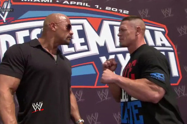 WrestleMania 28 Matches: John Cena vs. The Rock Has to Close Show