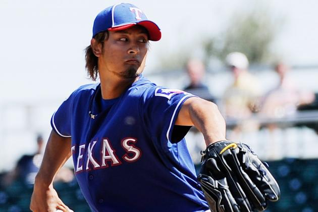 Texas Rangers Announce Yu Darvish's First Regular Season Start