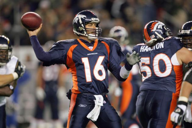 Denver Broncos: Jake Plummer Should Back Up Peyton Manning
