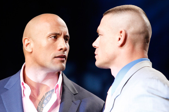 WWE: Who's Wrong in the War of Words Between The Rock and John Cena?
