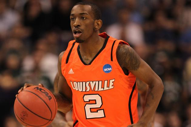 Final Four 2012: Sophomore Russ Smith Plays Big Role for Louisville vs. Kentucky