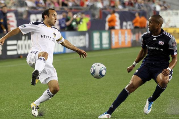 LA Galaxy vs. New England Revolution Live Blog: Play-by-Play Analysis, Reaction