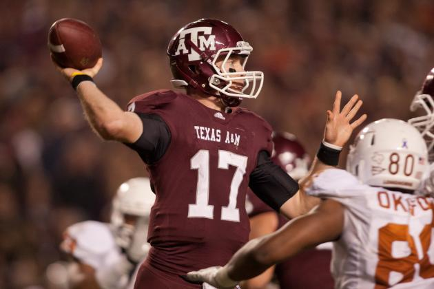 Texas A&M Football: Ryan Tannehill Solidifies Draft Stock with Pro Day Workout