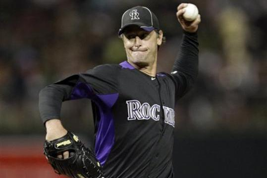 MLB Spring Training 2012: Jamie Moyer Struggles for 1st Time This Spring