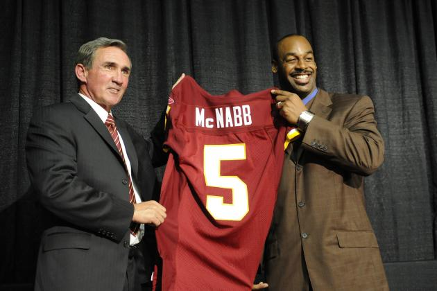 Donovan McNabb Looking Foolish After Blasting Washington Redskins, Shanahans