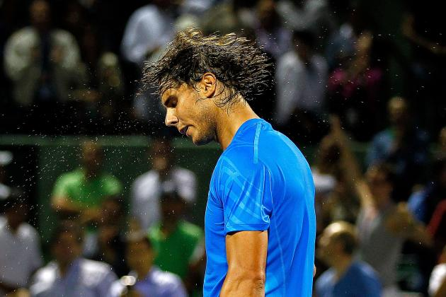 Rafael Nadal Withdraws from Sony-Ericsson Open with Knee Injury