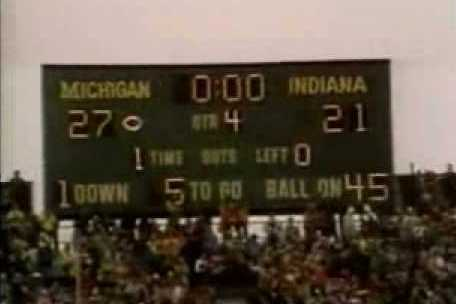 Classic Big Ten Football: Indiana at Michigan, 1979