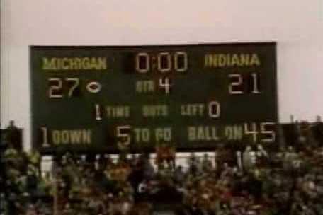 Classic Big Ten Football: Indiana at Michigan, 1979