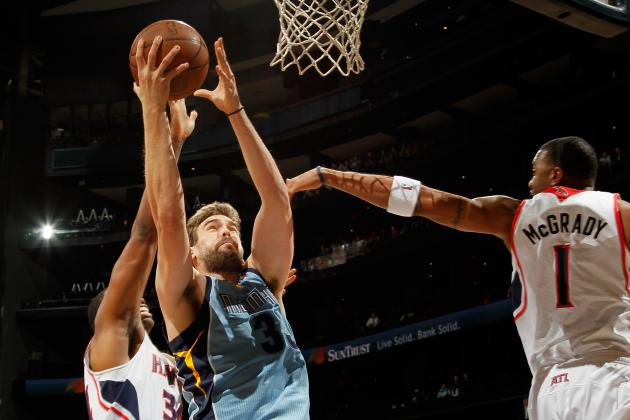 Marc Gasol Injury: Memphis Grizzlies Center to Play Against Houston Rockets