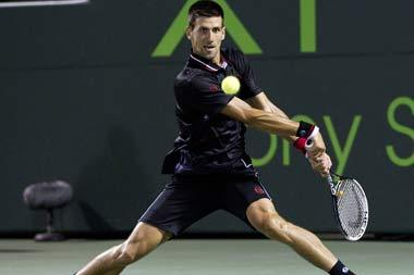 Sony Ericsson Open 2012: How Novak Djokovic Beat Juan Monaco in Straight Sets
