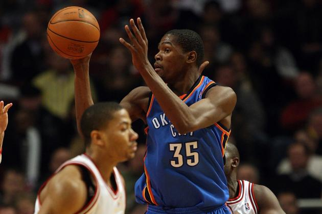 Derrick Rose Says OKC Thunder's Kevin Durant Is This Year's NBA MVP