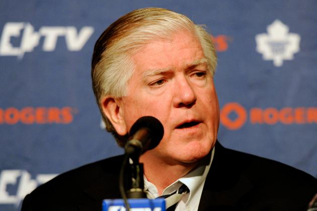 Toronto Maple Leafs: If I Was Brian Burke This Summer