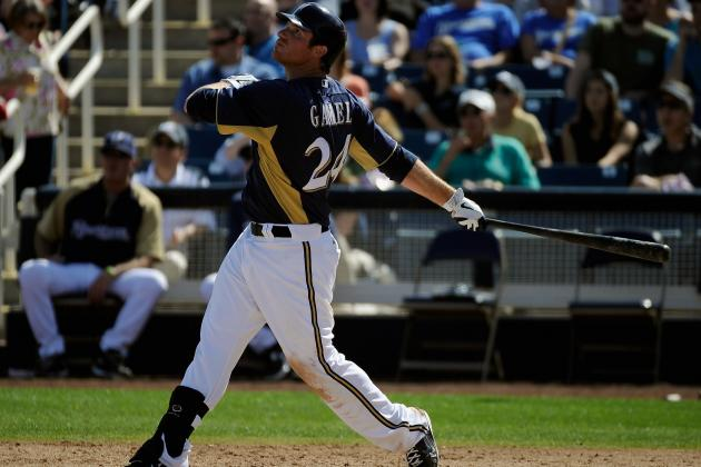 Milwaukee Brewers: Mat Gamel's Torrid Spring a Good Sign