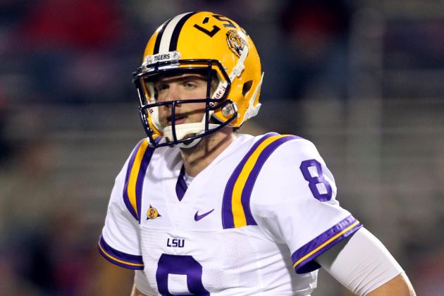 LSU Spring Game 2012: QB Zach Mettenberger Shows He Can Lead in 2012