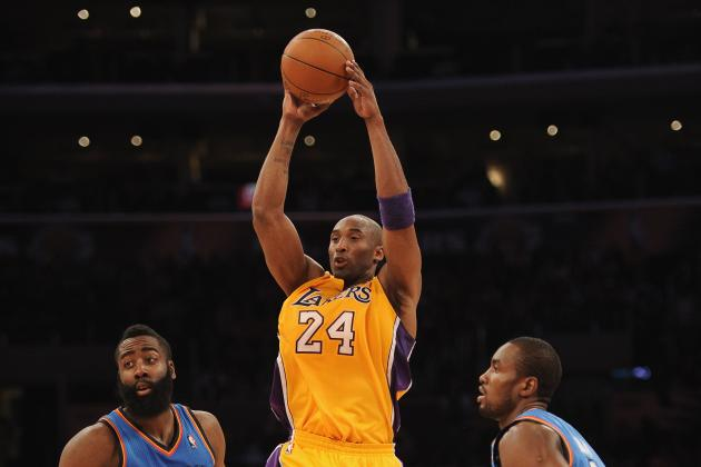 Los Angeles Lakers: Kobe Bryant Pulls a Tebow, but Is He out of Gas?