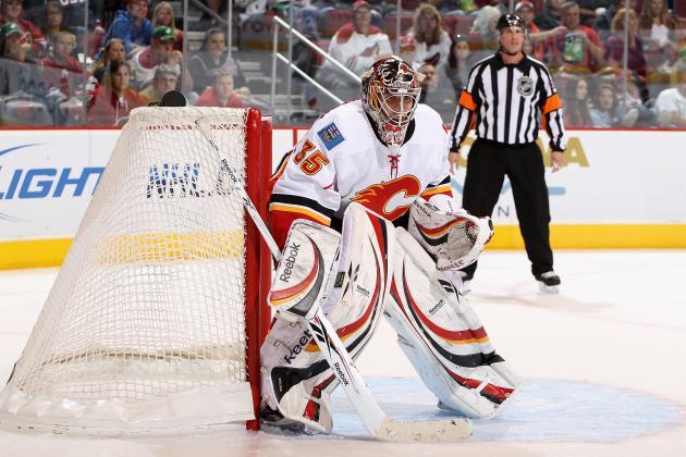 Calgary Flames to Start Henrik Karlsson in Net Against Vancouver Canucks