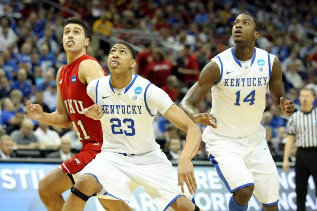 Final Four 2012: Anthony Davis, Michael Kidd-Gilchrist Show They Are the 2 Best