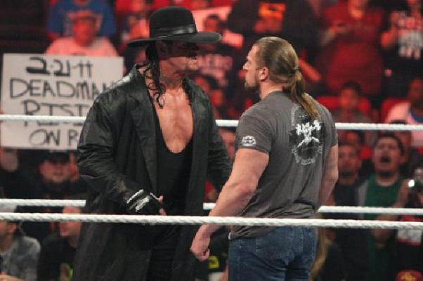 Undertaker vs Triple H: Dead Man's Streak Will Continue vs. The Game