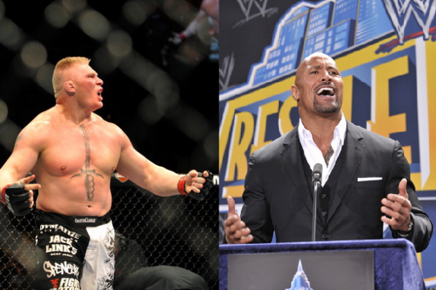 Brock Lesnar Signs WWE Deal, Will He Interfere at WrestleMania with Rock, Cena?