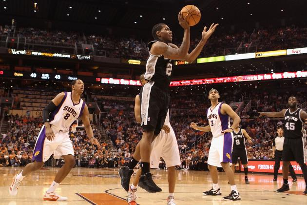 Spurs Rookie Kawhi Leonard Quietly Making the Most out of Great Situation