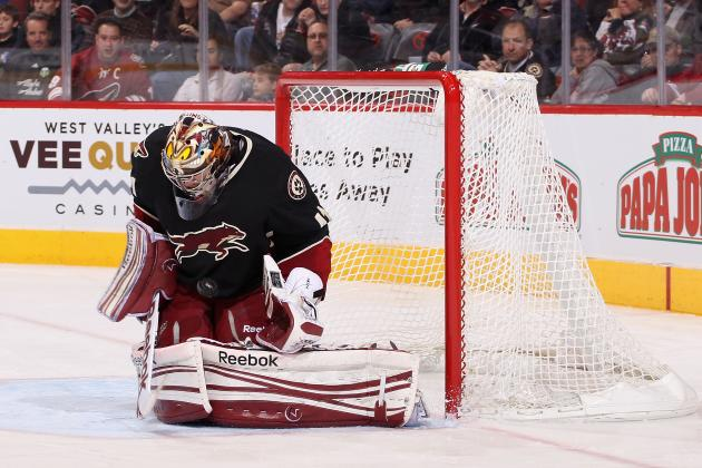 Phoenix Goalie Mike Smith's Play Could Determine Coyotes' Fate in Playoffs