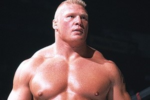 WWE WrestleMania 28: Who Does Brock Lesnar Have His Sights Set On?