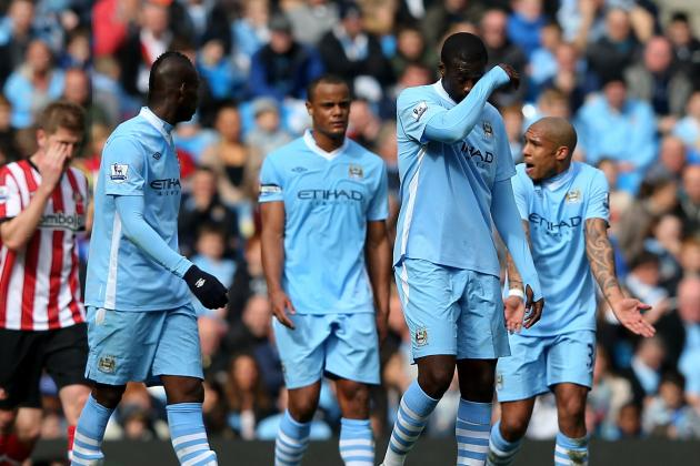 Manchester City vs. Sunderland: Shock Draw Ends Citizens' Title Hopes