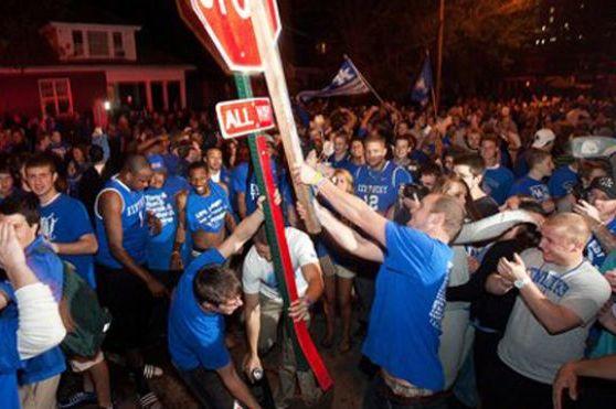 Final Four 2012: Kentucky Riot Casts a Dark Shadow on 2012 NCAA Tournament