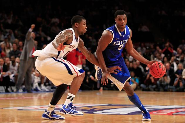 Kentucky vs. Kansas: National Championship Will Come Down to Frontcourt Battle
