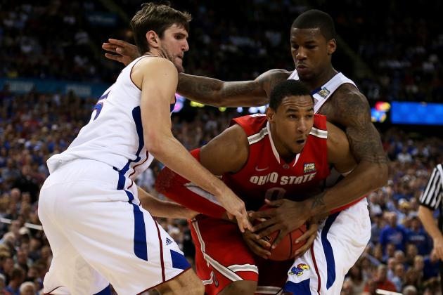 Jayhawks Defense Stifles Buckeyes, Sends Kansas On to Title Tilt with Kentucky