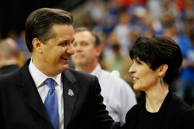 NCAA Bracket 2012: Why Kentucky Will Hoist the National Championship