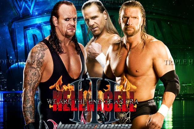WrestleMania 28: How HBK Will Decide the End of an Era with Triple H, Undertaker