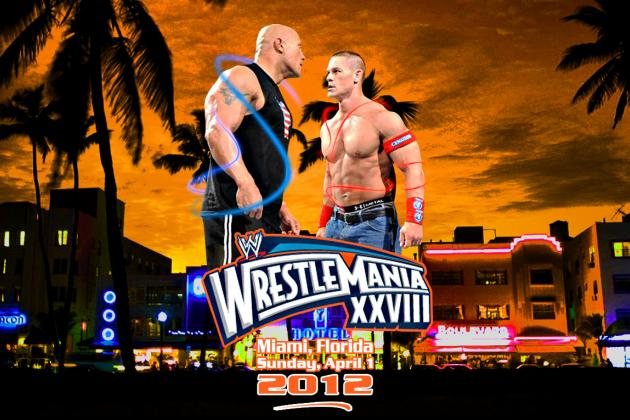 WWE WrestleMania 28 Results: Cena vs. Rock, Live Coverage and Updates