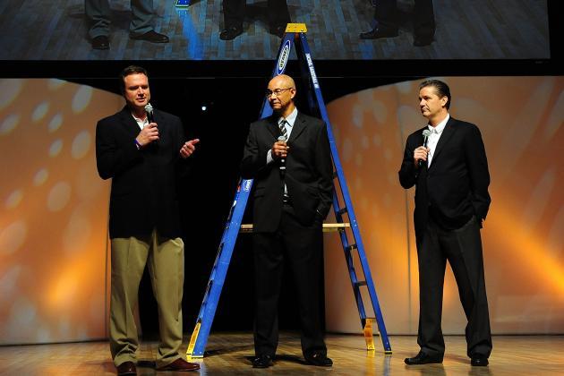 Kentucky vs. Kansas: Bill Self a Fitting Final Obstacle to John Calipari's Title