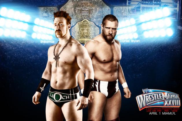 WrestleMania 28: Bryan, Sheamus and Fans Robbed by WHC Match