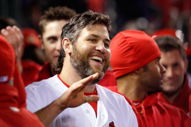St. Louis Cardinals: Lance Berkman Pranks Adam Wainwright for April Fool's Day