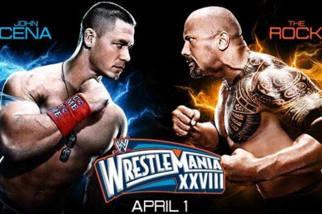WWE WrestleMania 28 Speculation: Was Rock vs. Cena Finish Altered?