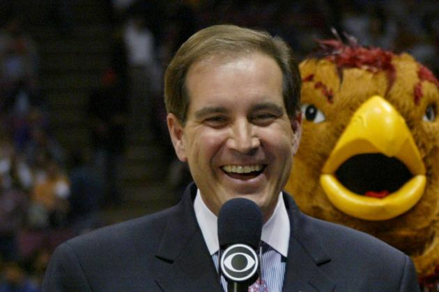 CBS Sports Jim Nantz from the Madness to the Masters in the Same Week