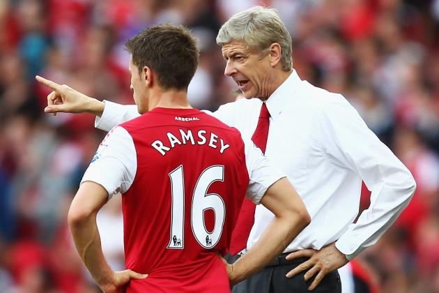 QPR vs. Arsenal: Aaron Ramsey Is Not to Blame; Arsene Wenger Is