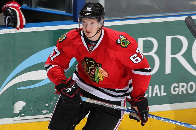 Chicago Blackhawks Farm Report: Donnybrook in Milwaukee No April Fools Joke