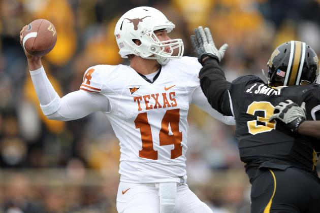 Texas Football: Longhorns Should Name David Ash the Starter and Move Forward