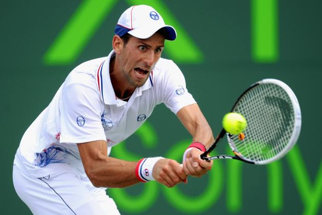 Novak Djokovic Wins Sony Ericsson Open: Djokovic Cleary a Cut Above the Rest