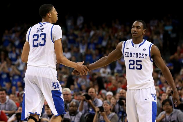 Kentucky vs. Kansas: Live Analysis of 2012 NBA Draft Prospects in Tonight's Game