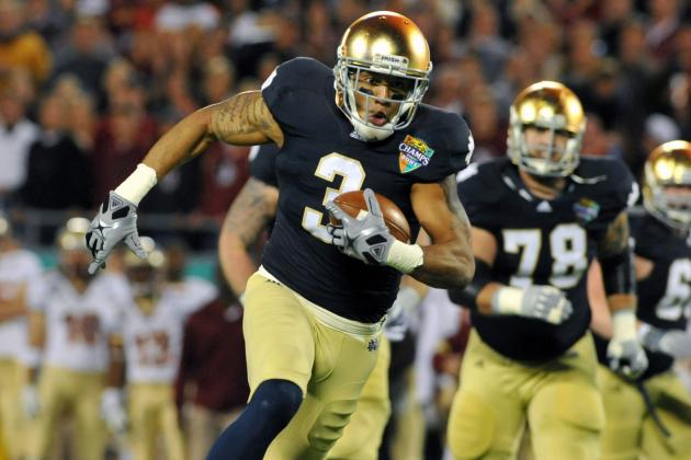 Report: Philadelphia Eagles Work out Notre Dame Receiver Michael Floyd