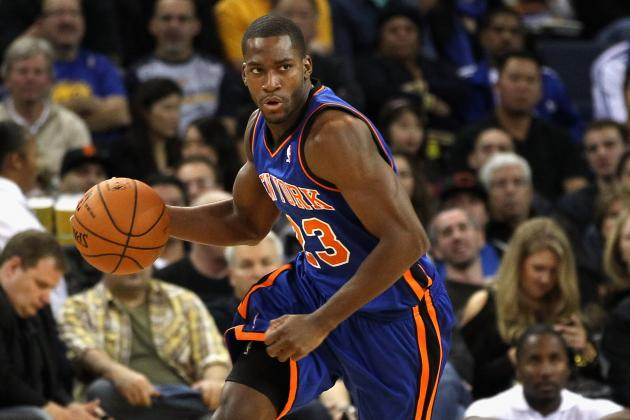 New York Knicks: Pressure on Toney Douglas in Past Has Resulted in Poor Play