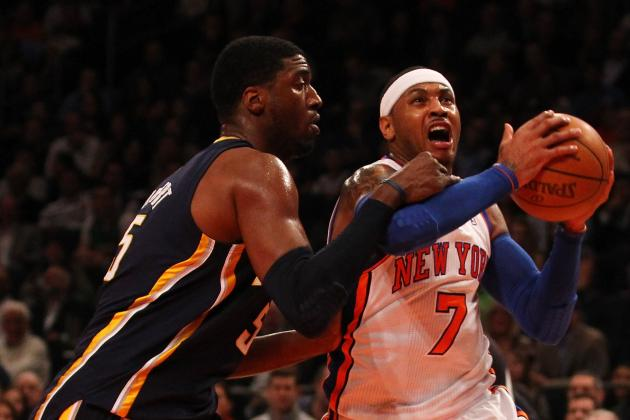 NBA Power Rankings: How the Knicks vs. Pacers Game Could Be a Playoff Preview