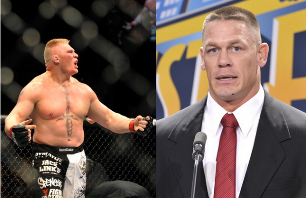 Brock Is Back! Brock Lesnar Crushes John Cena in Impressive Return to WWE