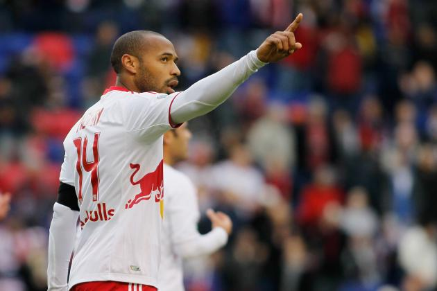 Impact vs. Red Bulls: Thierry Henry Torches Impact