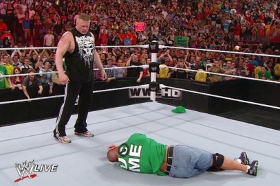 WWE Raw: Why Brock Lesnar's F5 to John Cena Was Brilliantly Predictable